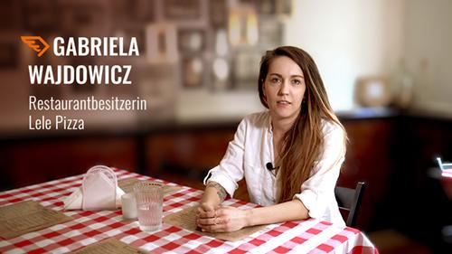 [:de]Restaurantbesitzerin Lele Pizza[:]
